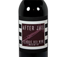 After Jail red wine