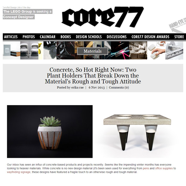 Core77 design blog publication
