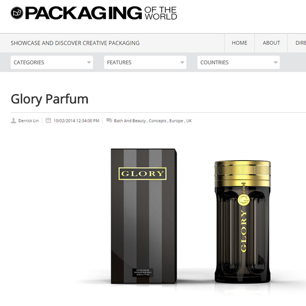 Perfumery luxury packaging