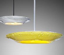 Paperlain. Porcelain pendant lamps